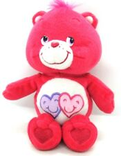 "Care Bears ALWAYS THERE BEAR #8 2006 Hot Pink 10"" Collector's Series 5 EUC"