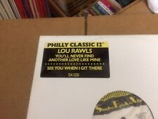 """LOU RAWLS SEE YOU WHEN I GET THERE ~ YOU'LL NEVER FIND S E X REISSUE  VINYL 12"""""""