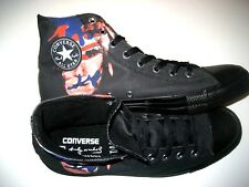 Converse x Andy Warhol Chuck Taylor Hi Top Self Portrait Shoes Black Red Size 10