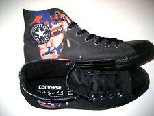 86116ef6c Converse x Andy Warhol Chuck Taylor Hi Top Self Portrait Shoes Black Red  Size 10