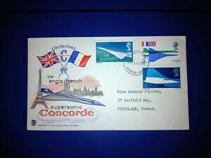 Concorde 1969 Unusual Stuart Colour FDC Good Condition