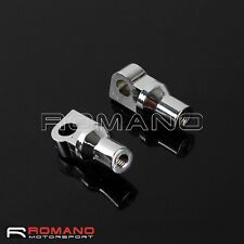 Motorcycle Chrome Footpeg Mounting Bolt For Harley Softail Fat Boy Wide Glide