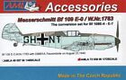 AML 1/72 Messerschmitt Bf 109 E-0 / W.Nr.1783 Bf 109E-4 / Bf 109E-7 # A7230