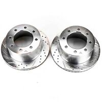 Power Stop AR8180XPR Rear Evolution Drilled /& Slotted Rotor Pair
