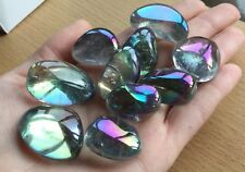 Angel Aura Quartz Crystal 20-30mm Tumble Healing Psychic Crown Opal Rainbow