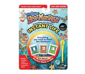 Amazing Live Sea Monkeys Original Instant Life Monkey Kids Toys Science