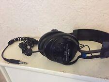 Sony DJ DYNAMIC STEREO HEADPHONES DR - S5 TONE&VOLUME ADJUSTABLE