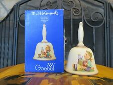 Hummel Goebel Annual Bell Bas-Relief Let's Sing 1978 First Edition 700 Tmk-5 Mib