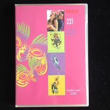 Pfaff Carnival Embroidery Designs Card #321 for Models 2140 2160 2170