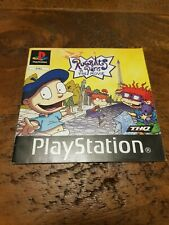 Rugrats In Paris PlayStation PS1 Game Manual Only