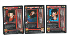 Super Android 17 Level 1-3 Personality Set Dragonball Z DBZ CCG GT Saga