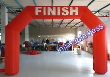 20ft Red Inflatable Arch Archway w/Fan IN STOCK! BEST DEAL EVER!!
