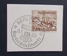 Deutsches Reich Nr. 651 auf Briefstück mit SST Berlin W 62 1938