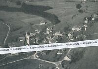 Rickenbach - Altenschwand - Luftbild - um 1930 (?) - selten!  O 21-17
