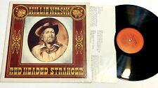 Red Headed Stranger by Willie Nelson Lp In Shrink Vg