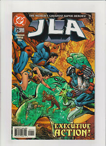 JLA #25 VF+ 8.5 DC Comics 1999 Superman,Batman,Flash,Wonder Woman Grant Morrison