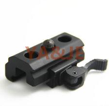 QD Quick Detach Cam Lock 20mm Picatinny Weaver Rails Bipod Sling Adapter