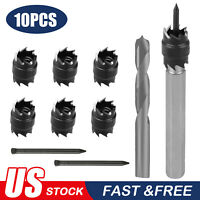 "10pcs Double Sided 3/8"" Rotary Spot Weld Cutter Remover Drill Bits Cut Welds Kit"