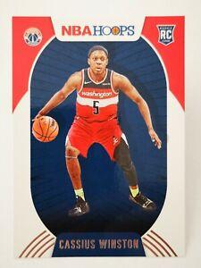 Panini Hoops 2020-21 N22 NBA Rookie RC #227 Cassius Winston Washington Wizards