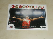 2008-09 Topps Basketball #23 LeBron James