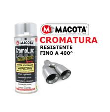 Vernice Spray Bomboletta Macota Cromolux EFFETTO Cromo Alte Temperature 400°