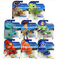 Hot Wheels 1:64 Disney Cartoon Character Cars 2020 J Ass. GCK28-999J  In Stock