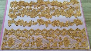 Claire Bowman Ready Made Edible 3D Eternity,     CAKE LACE   ALL ONE PRICE