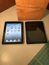 (2) Apple iPad 1st Gen. (A1337) 64GB And 16GB 64 Works 16 Doesn't