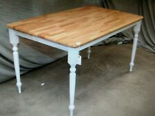 5 Wood Cafe Restaurant Farm Country Tables Table 60 x 30 1/2 x 30H (T15)