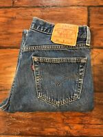Levi's 501xx Men's Tag 33x34 Act. 31 X 33 Jeans 501-0169 Denim VTG Made In USA