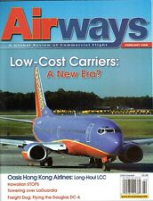 Airways Magazine 2008 February Douglas DC-6,Oasis Hong Kong,CHC Helicopters