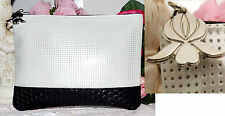 SISLEY Silver Classic High Quality Makeup/Evening Bag new