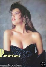 """PHOEBE CATES """"WEARING LOW-CUT GOWN"""" POSTER FROM ASIA - Cute, Sultry 80's Actress"""