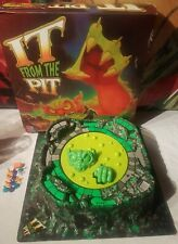 Vintage 1992 Milton Bradley It From The Pit Board Game incomplete parts repair