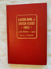 1974 Red Book A Guide Book of United States Coins Price Guide 27th Edition!
