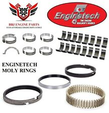 Ford 302 5.0 Coyote Dohc 11 – 16 Enginetech Rod Main Bearings With Piston Rings