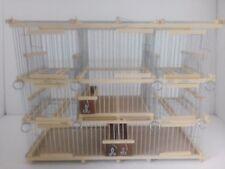Pour Capture Oiseaux Grande Cage Avec 2 Bloque Pièges  / Cage de Voyage / 7 Bloc