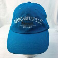 Margaritaville Baseball Cap Hat Jimmy Buffett Orlando Strapback Embroidered  Blue d1bba2041f52