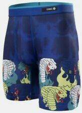 New! Stance Boxer Briefs Boys Size Small (Age 6-8) Snakes & Fire