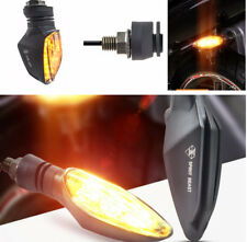 2 PCS Motocycle Turn Signal Lights Amber Color Waterproof LED 12V Universal Moto