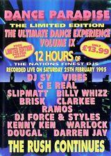 Dance Paradise Volume 9 - 13 CD Pack (Helter, Dreamscape, Slammin, Rave)