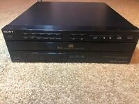 Sony CDP-C312M Player 5 Disc Multi CD Changer with owner manual.