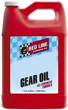 Red Line Synthetic 75w90 GL-5 Gear Oil 1 Gallon 57905