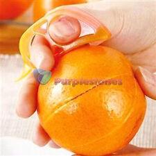Home Citrus Orange Opener Peeler Slicer Cutter Plastic Lemon Fruit Skin Remover