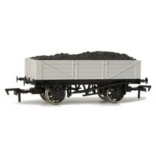 Dapol A005 'Un Painted' 4 Plank Open Mineral Wagon w/ Load Grey New Boxed - T48