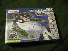 NEW! Erector Set 3150B Space Chaos Dark Pirates Spacecraft - 2 Models (7-14)