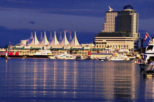 454062 Canada Place And Pan Pacific Vancouver British Columbia A4 Photo Print