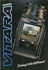 SUZUKI VITARA JLX Hard Top 1988-89 UK Market sales brochure