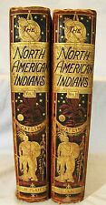 Geo. Catlin. North American Indians. 2vols 1913 180 Chromolithograph Plates