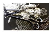 "NEW Kamisori D-1S 5.0"" Diablo Professional Dragon Texturizer and Shears Set"